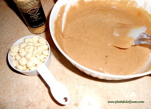 ginger pancake ingredients
