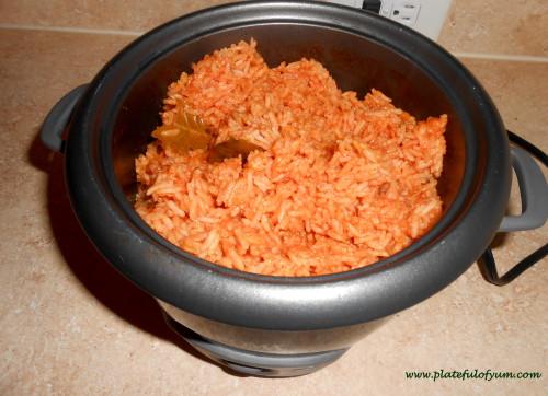 Jasmine jollof rice