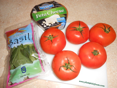 Ingredients for Baked tomatoes